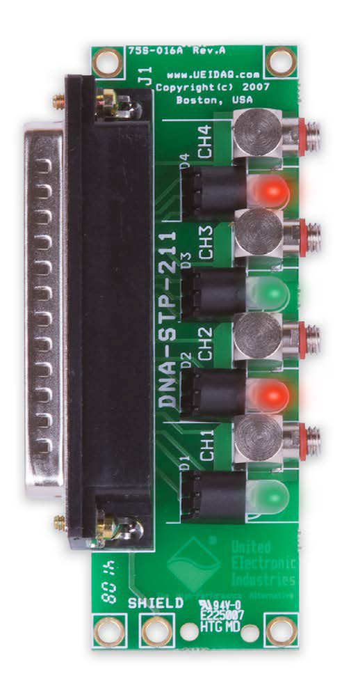 Adaptor board for the DNx-AI-211
