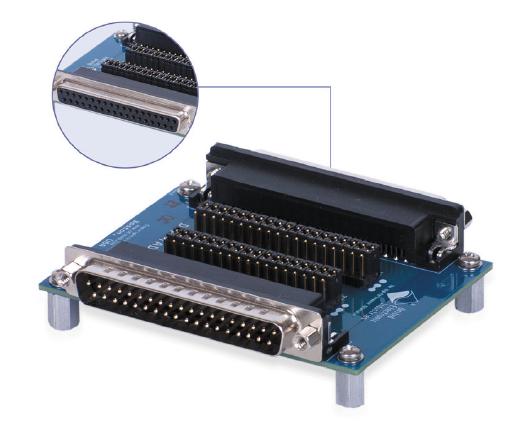37-pin in-line breakout board