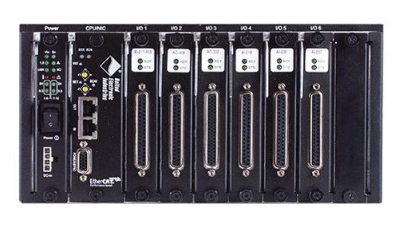 6 Slot EtherCAT HALFRACK I/O Chassis