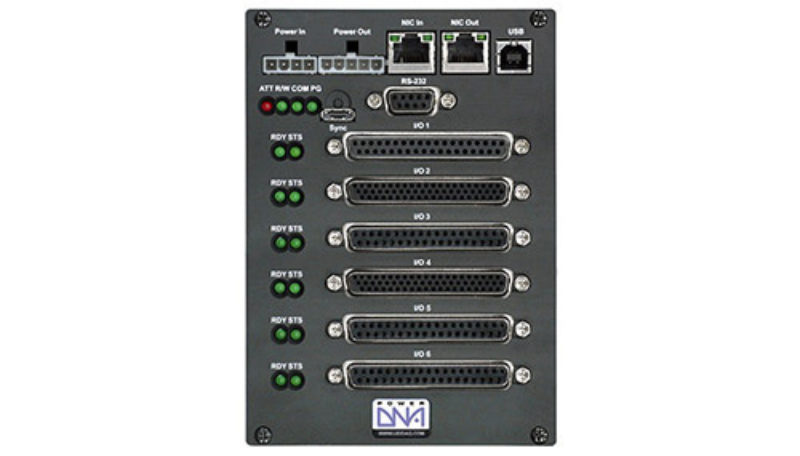 6-slot, Ethernet-based I/O, Data Acquisition and Control Cube with PowerPC CPU