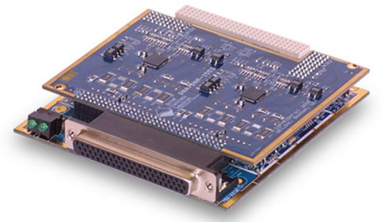 Dual Channel MIL-STD-1553 interface board