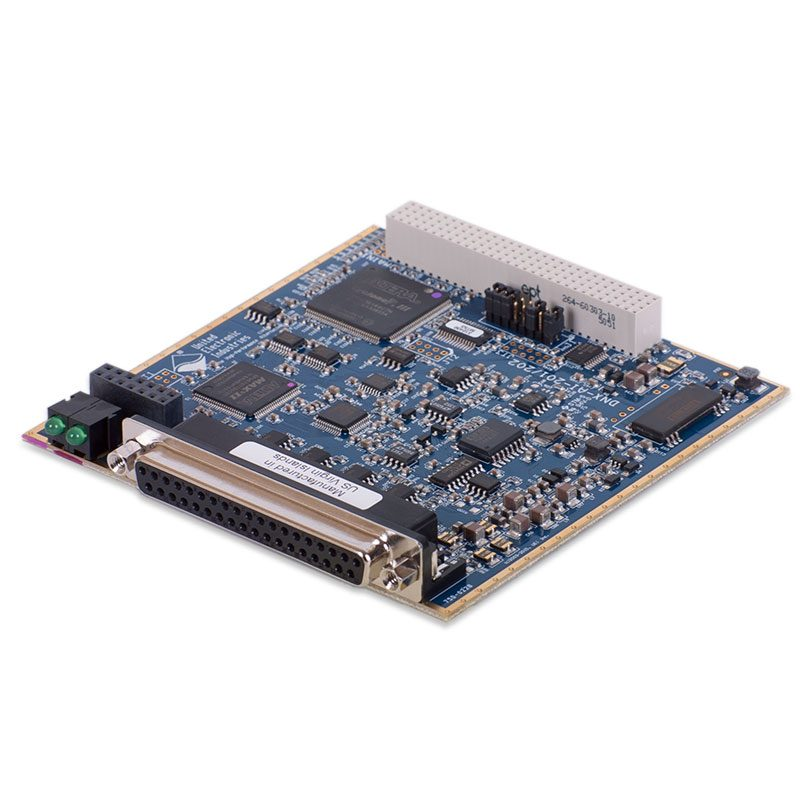 24-channel, 16-bit, 100 kS/s aggregate, analog input board