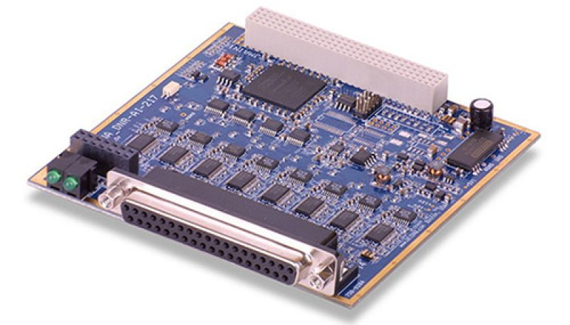 16-Channel, 24-bit 120 kS/s high-speed simultaneously sampling A/D board