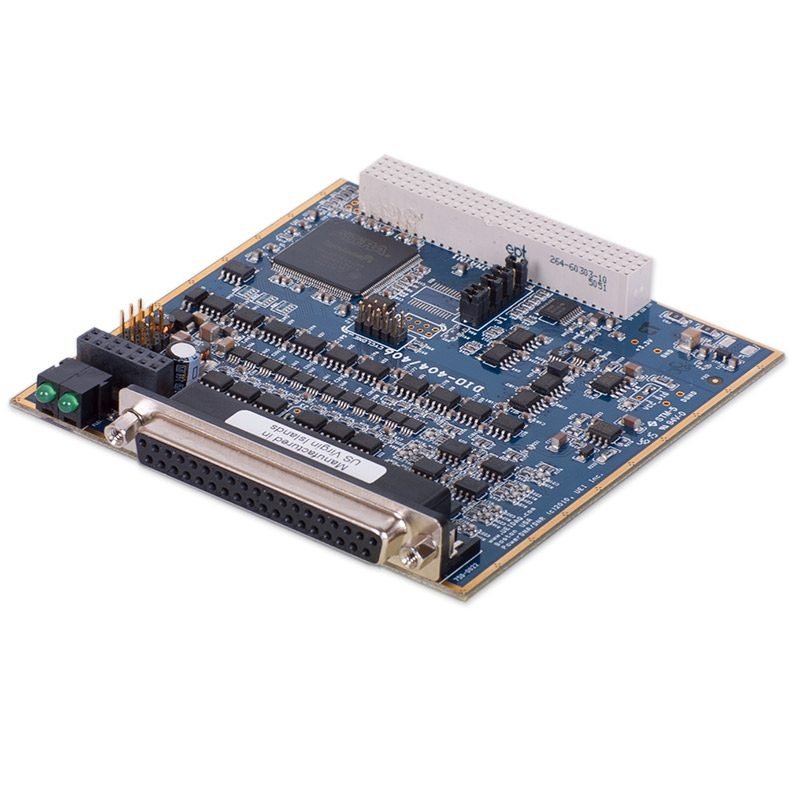 12-In/12-Out current sourcing (350mA) digital I/O board