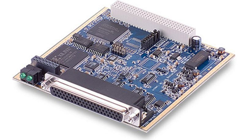 48-Channel digital input board with voltage and current monitoring