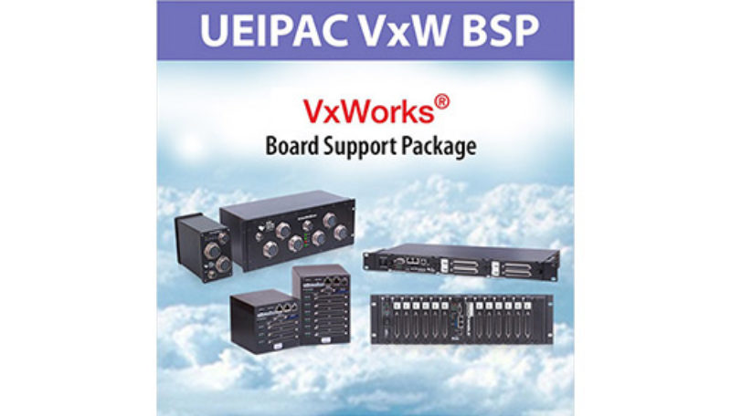 UEIPAC VxWorks board support package (BSP)