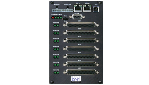 7-slot PowerPC Data Acquisition and Control I/O Cube