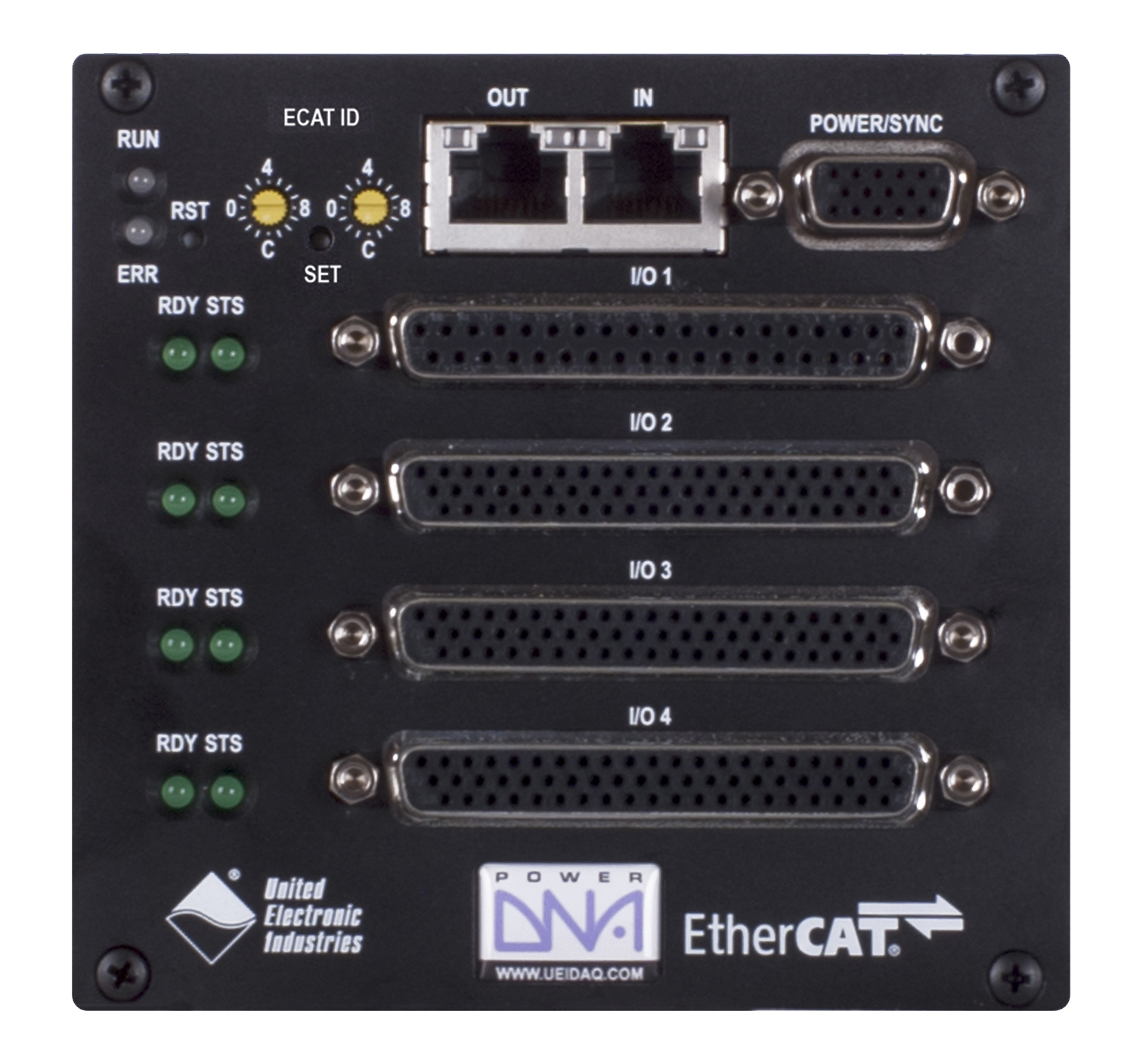 4 Slot EtherCAT based I/O Cube