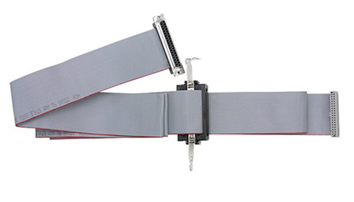 3 ft, 37-way ribbon cable with mounting bracket and internal cable
