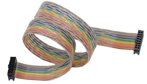 18in, 50-way flat ribbon cable