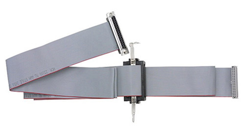 6ft, 37-way ribbon cable with mounting bracket and internal cable