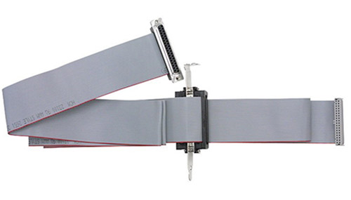 9 ft, 37-way ribbon cable with mounting bracket and internal cable