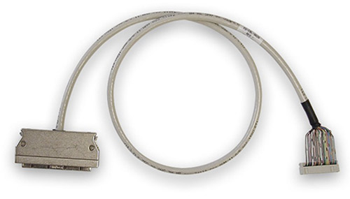 18 in. round shielded cable connects PowerDAQ board to 5B rack