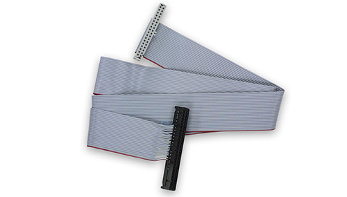 18in 36/50-way DIO flat ribbon cable