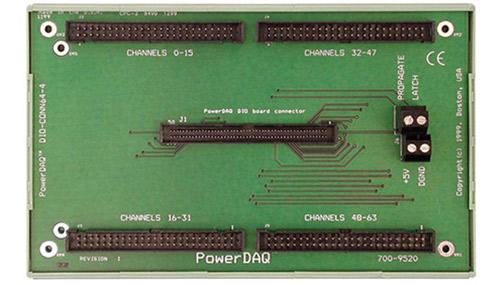 96-way to 4 x 50-way IDC distribution board