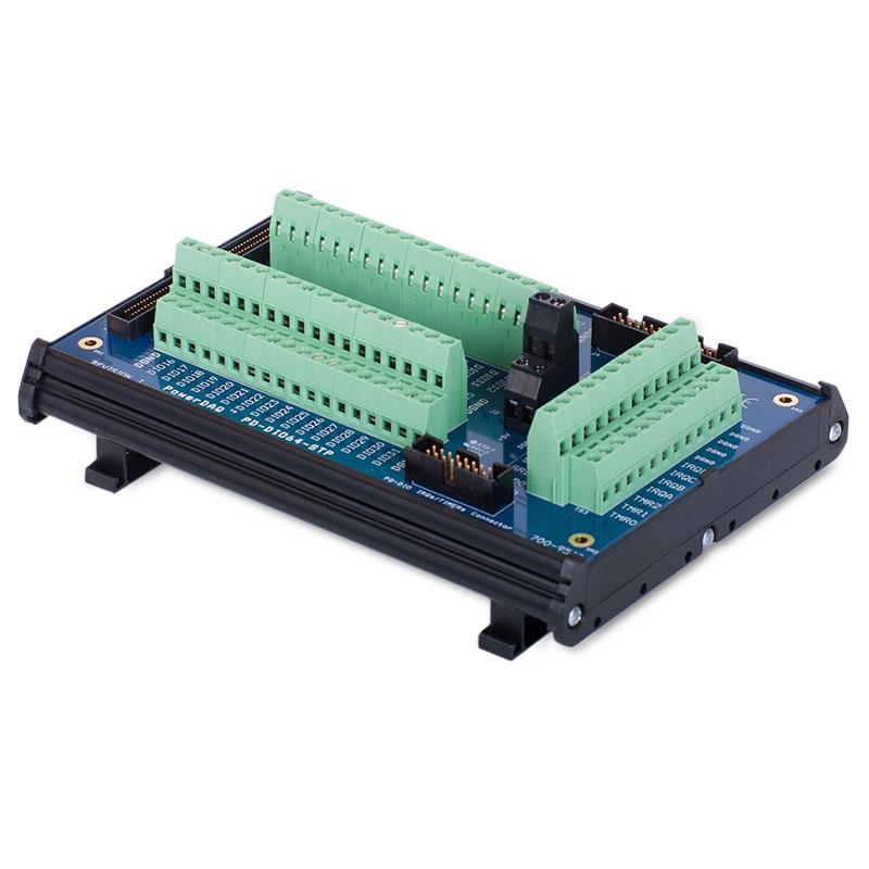 64-channel digital I/O screw terminal panel