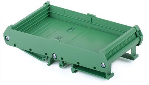 DIN rail tray