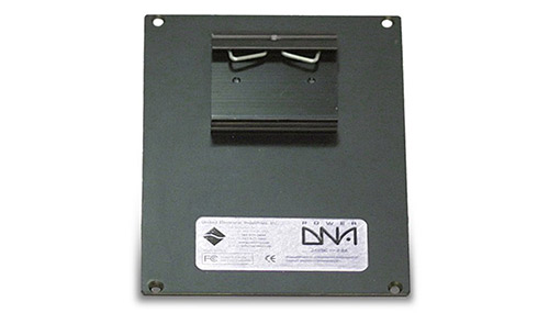 Rear-mount DIN rail clip for PowerDNA 8-layer Cube
