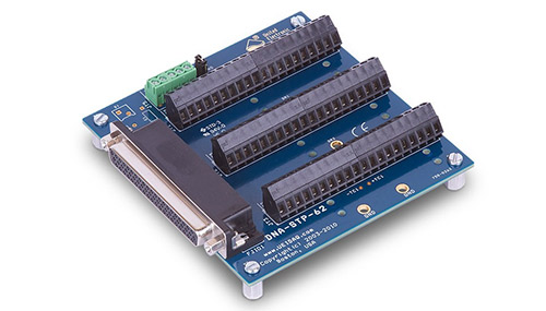 62-channel screw terminal panel