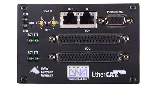 2 Slot EtherCAT based I/O Cube