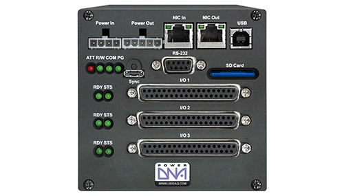 Real-Time, programmable automation controller (PAC) with 3 I/O slots