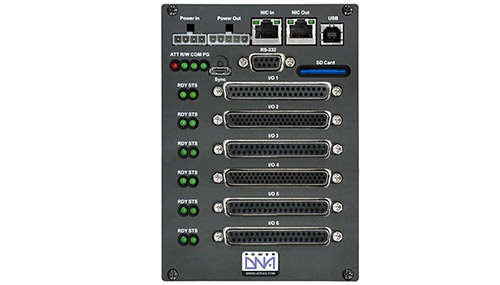 6-slot 100Base-T Cube based I/O chassis for use with OPC-UA