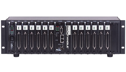 Compact (3U), 12-slot, rugged, Gigabit Ethernet Data Acquisition and control rack