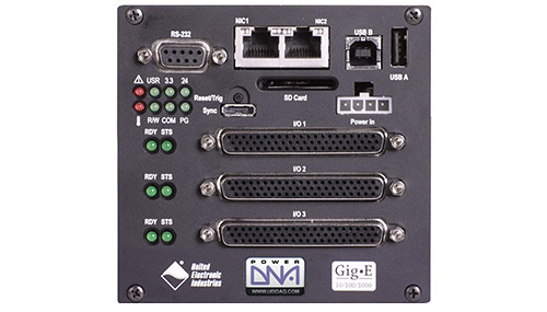 Real-Time, GigE, Programmable Automation Controller (PAC) with 3 I/O slots