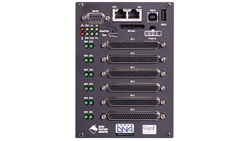 6-slot GigE Cube based I/O chassis for use with OPC-UA