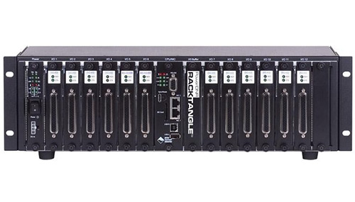 Powerful, flexible, 12-Slot, rack mountable (3U) Simulink/RTW target, I/O Chassis, ideal for HIL applications