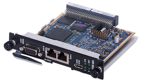 2-Channel AFDX / ARINC-664 interface