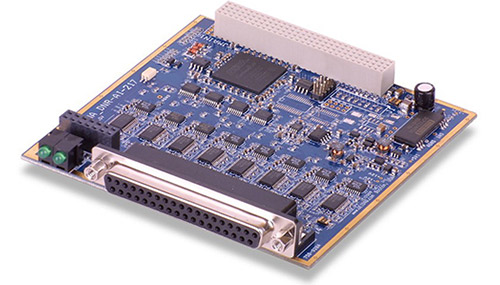 16-Channel, 24-bit 30 kS/s simultaneously sampling A/D board