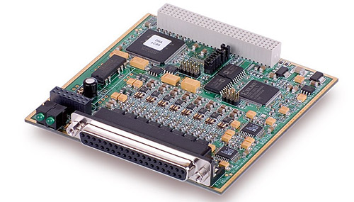 8-Channel, 16-bit, 100 kS/s per channel, 0-10V Analog Output Board