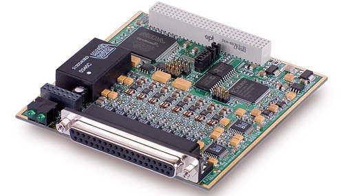 8-Channel, 16-bit, 100 kS/s per channel, 0-20mA Current Output Board