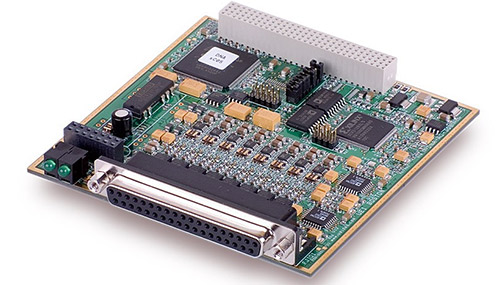 8-Channel, 16-bit, 100 kS/s per channel, ±10V High-Current Analog Output Board