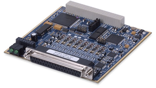 8-Channel, 16-bit, 100 kS/s per channel, ±13.5 V, ±13.5 mA Analog Output Board