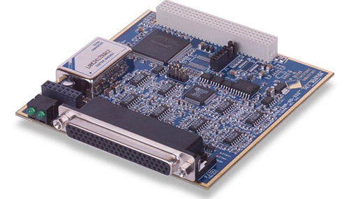32-channel, 16-bit analog output board