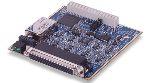 32-channel, 16-bit analog output board with analog voltage readback