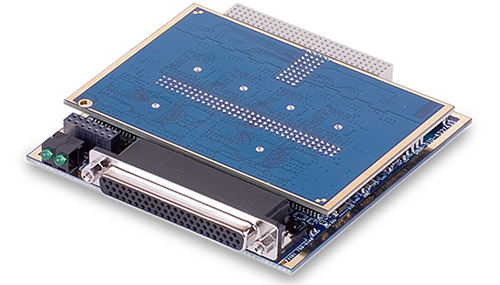 32-Channel current sourcing (600mA) digital output board with voltage and current monitoring