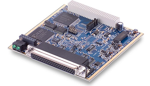 48-Channel digital input board with voltage monitoring