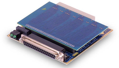 4-port, RS-232/422/485 serial communications board