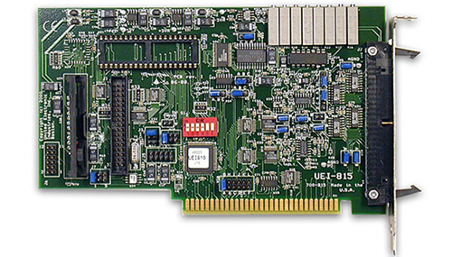 16-channel, 12-bit, 1/10/100/500 gain, 16SE/8DI A/D ISA multifunction board