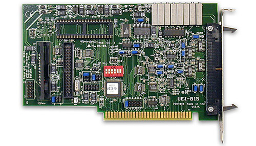 16-channel, 12-bit, 1/10/100/500 gain, 32SE/16PDI A/D ISA multifunction board