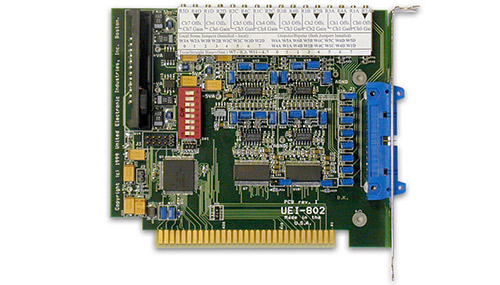 8-channel, 12-bit ISA analog output board (replaces RTI-802-8)