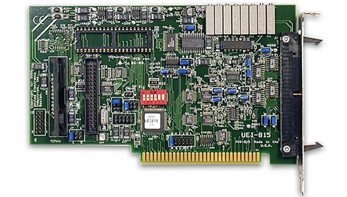 16-channel, 16SE/8PDI A/D ISA multifunction board w/analog output (replaces RTI-815-F)
