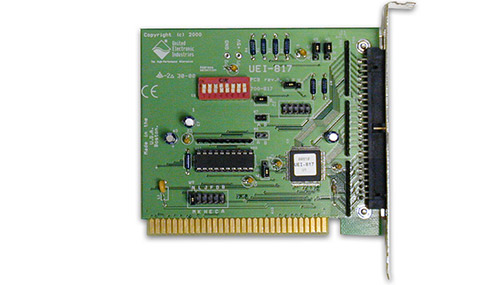 24-channel ISA digital I/O board (replaces RTI-817)