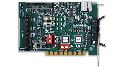 24-channel digital I/O ISA multifunction board w/analog input/output (replaces RTI-820)