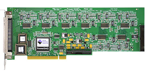32-channel, 16-bit, 100 kS/s per channel PCI analog output board