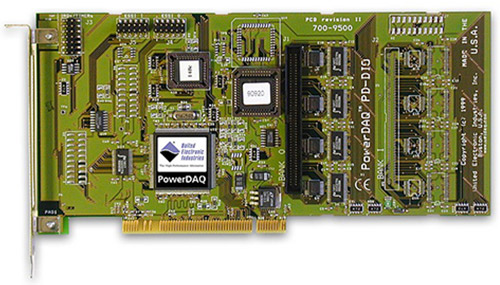 64-channel, 16-bit PCI digital I/O board