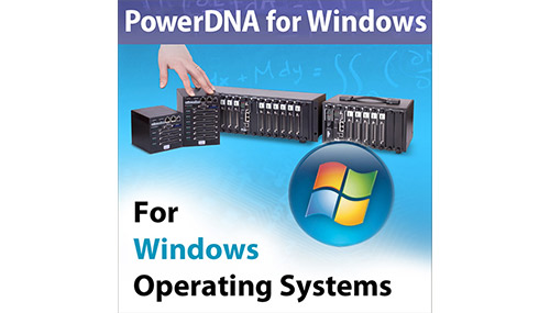 PowerDNA Windows drivers and software, includes UEIDAQ Framework library